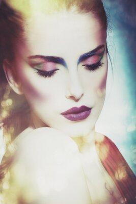 Quadro fantasia bellezza donna