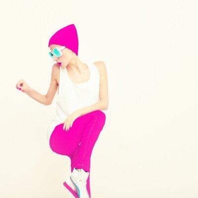 Quadro Fashion party girl