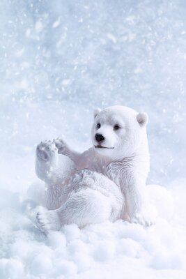 Quadro Figura Polar Bear