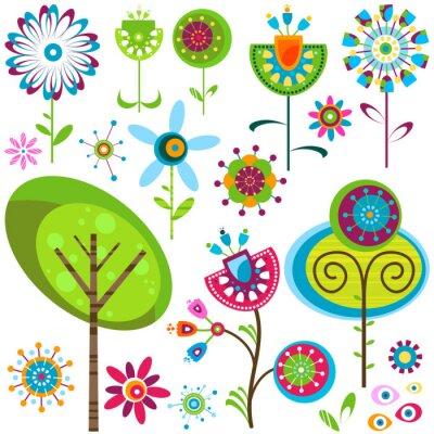 Quadro fiori whimsy