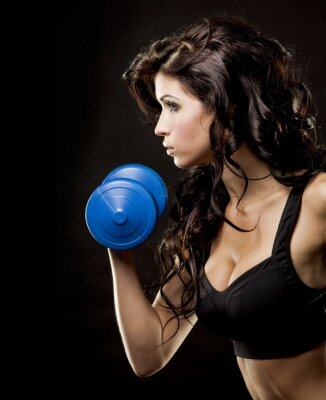 Quadro fitness donna