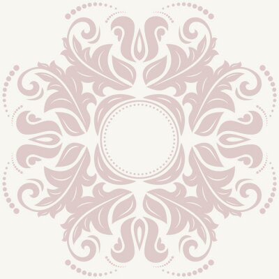 Quadro Floral  Abstract Pattern