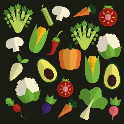 Quadro food design organico