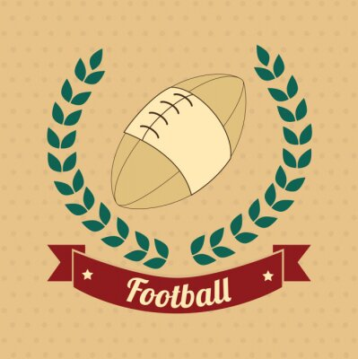 Quadro football americano