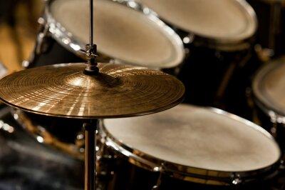 Quadro Frammento drumset primo piano