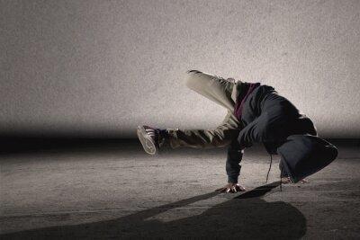 Quadro Fresco stile breakdance