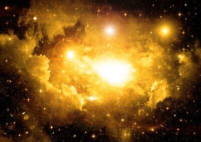 Quadro Galassia in uno spazio libero