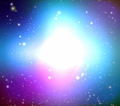Quadro Galaxy Colore