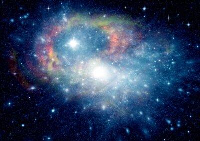 Quadro Galaxy in uno spazio libero