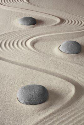 Quadro giardino zen