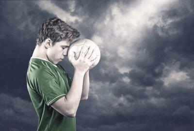 Quadro Giocatore di calcio