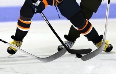 Quadro Giocatori di hockey su pista di pattinaggio