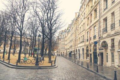 Quadro Gloomy day in Paris