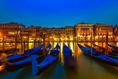 Quadro Gondola sul Canal Grande, Venezia, Italia