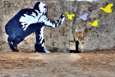 Quadro Graffiti liberté
