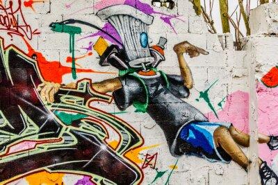 Quadro Graffiti street art