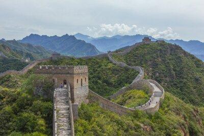 Quadro Grande Muraglia della Cina Jinshanling