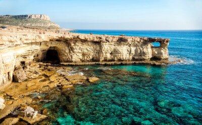 Quadro grotte marine panorama