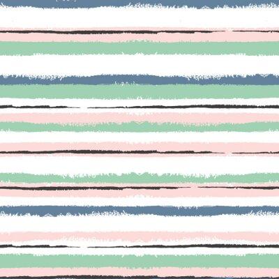Quadro Grunge strisce seamless, sfondo d'epoca, per il confezionamento, carta da parati, tessuti