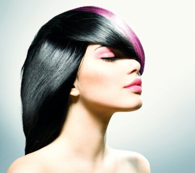 Quadro Hair Fashion. Acconciatura