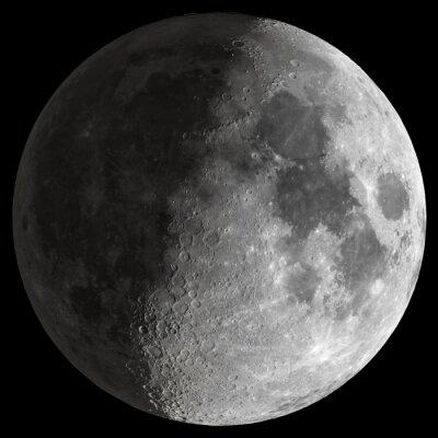 Quadro Half Moon con dettagli nitidi.