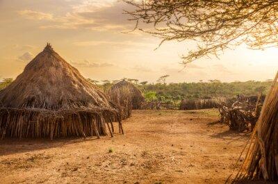 Quadro Hamer village near Turmi, Ethiopia