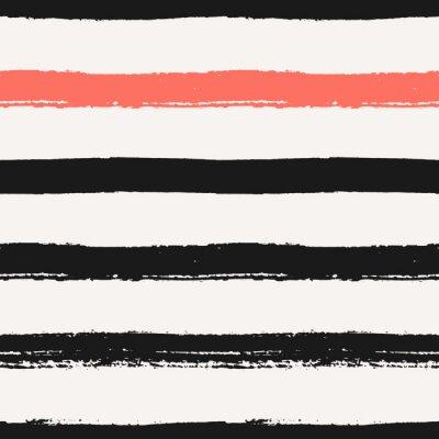 Quadro Hand Drawn Stripes Seamless Pattern