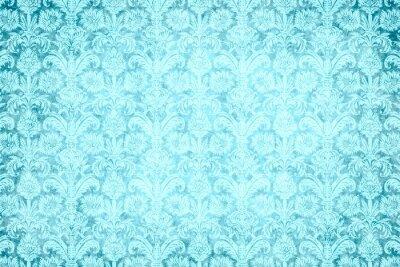 Quadro hintergrund - blauer Prunk