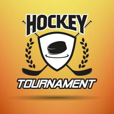 Quadro Hockey Label