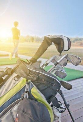 Quadro i giovani la pratica del golf
