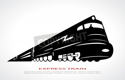 Quadro icona del treno