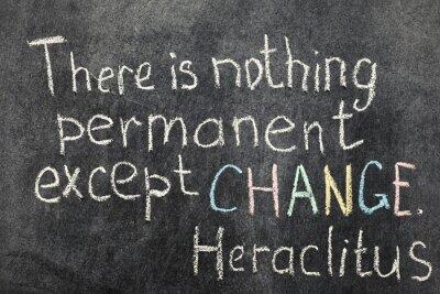 Quadro il cambiamento è permanente