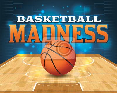 Quadro Illustrazione Basketball Tournament