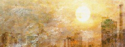 Quadro Impressione Sun City