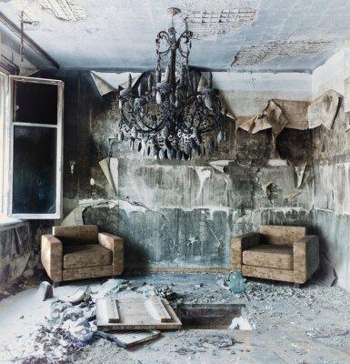 Quadro interni abbandonati
