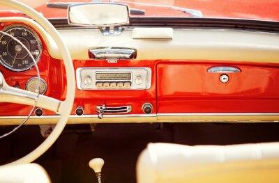 Quadro interno auto d'epoca