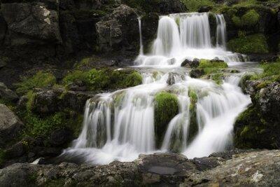 Quadro Islandese Waterfall