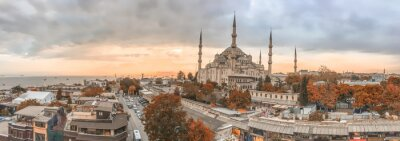 Quadro Istanbul - City skyline panoramica