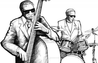Quadro jazz band