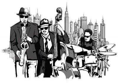 Quadro jazz band di New York
