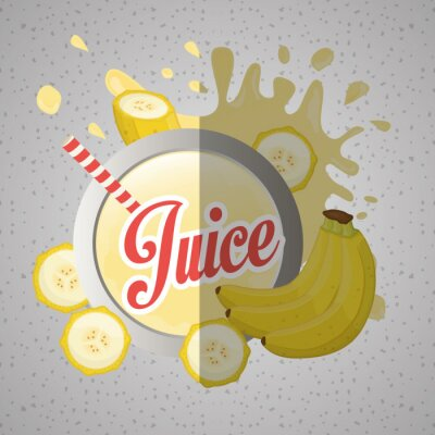 Quadro Juice icona del design