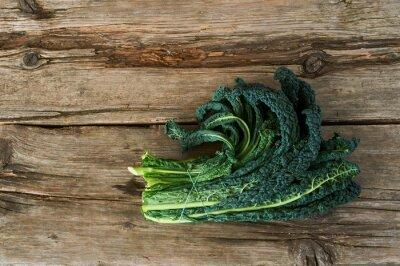 Quadro Kale o foglia di cavolo