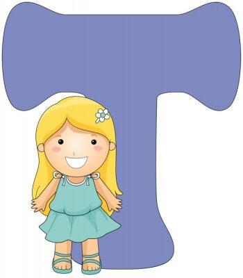 Quadro Kiddie Alphabet