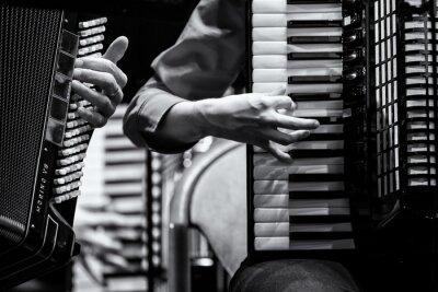 Quadro Konzert Handharmonika Club, Akkordeon Orchester, Dettaglio
