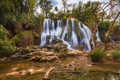 Quadro Kravice cascata in Bosnia-Erzegovina