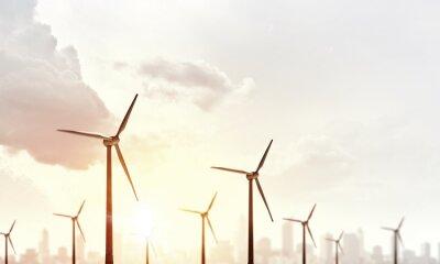 Quadro L'energia eolica alternativa
