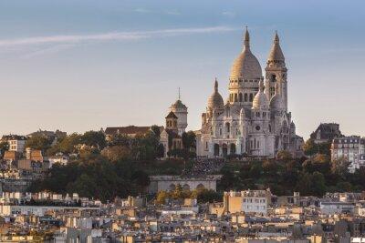 Quadro La Basilique du Sacré Cœur de Montmartre