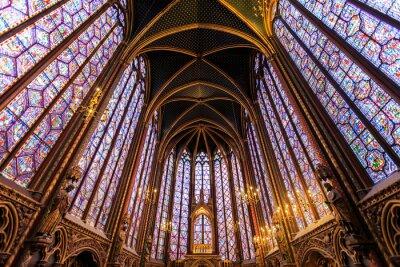 Quadro La Sainte Chapelle a Parigi