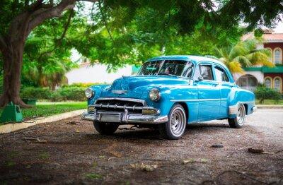 Quadro La vecchia automobile su Cuba