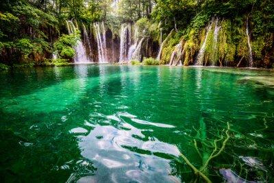 Quadro Laghi di Plitvice Parco Nazionale Croazia
